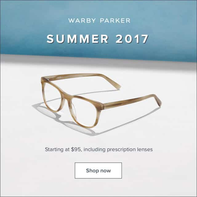 warby parker summer 2017