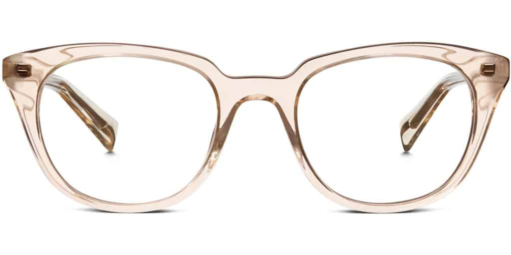 31f6c92eaf These gently sloping frames paired with round lenses perfectly accent your  style. Warby Parker Chelsea feature complete UV spectrum protection