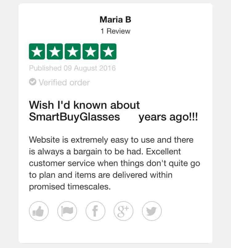 smartbuyglasses customer review2