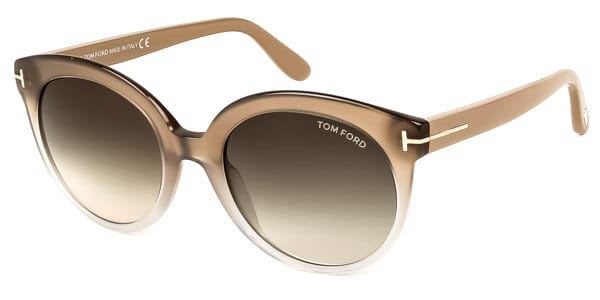 581ad7dc11d1 TOM FORD FT0429 MONICA 59B. Immediately you'll notice the cat eye frames  with the translucent frames and ...