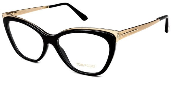 406ea7b8bc46 There is a rather pleasing melange or plastic and metallic detail on these  glasses. The result is a Tom Ford prescription glasses pair that is  suitable for ...