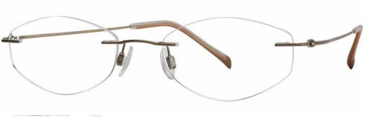 Charmant Titanium TI 8331E frameless prescription glasses