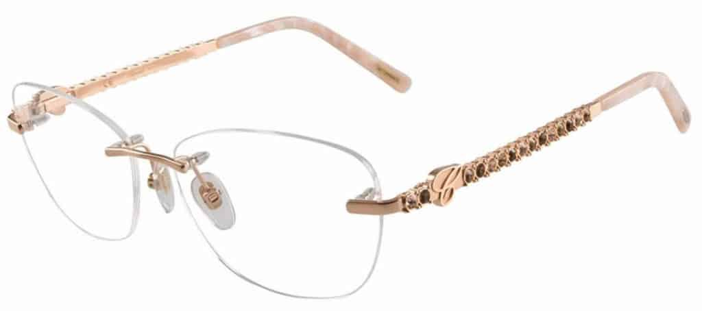 Chopard VCHB51S Eyeglasses frameless prescription glasses