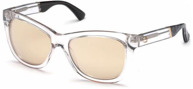 Guess GU7472 clear frame sunglasses
