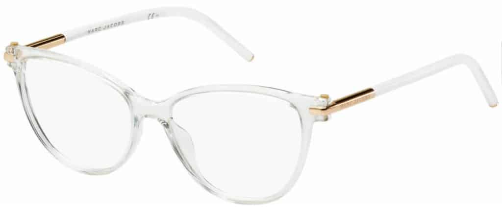 Marc Jacobs Marc 50 clear frame prescription glasses