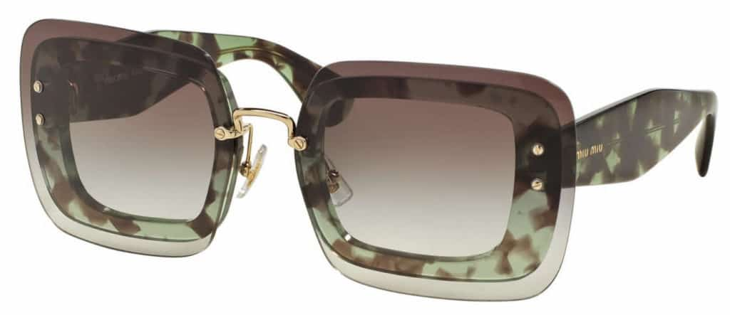 Miu Miu MU 02RS Sunglasses frameless prescription glasses