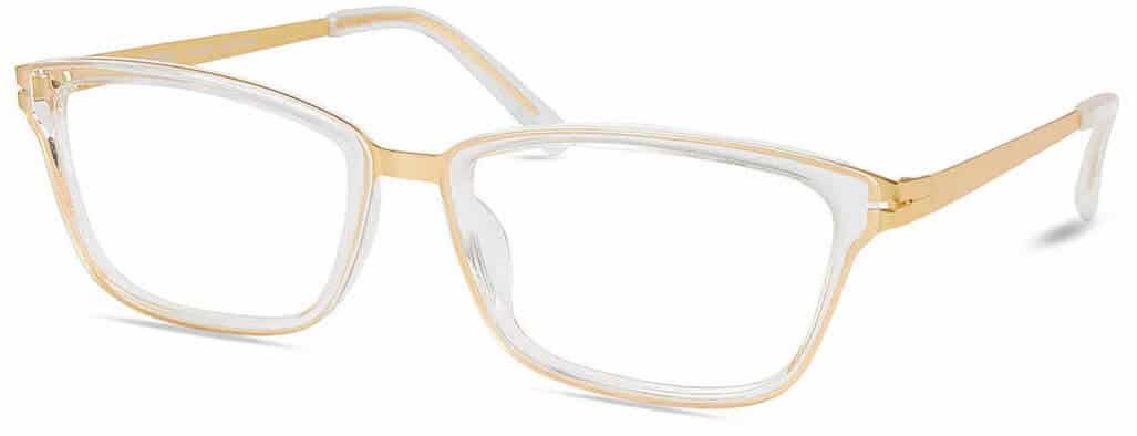 Modo 4500 clear frame prescription glasses
