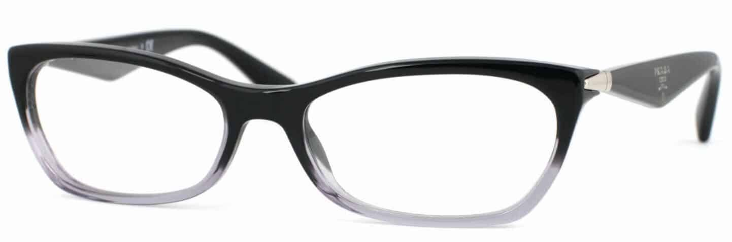 Prada PR 15PV clear frame prescription glasses