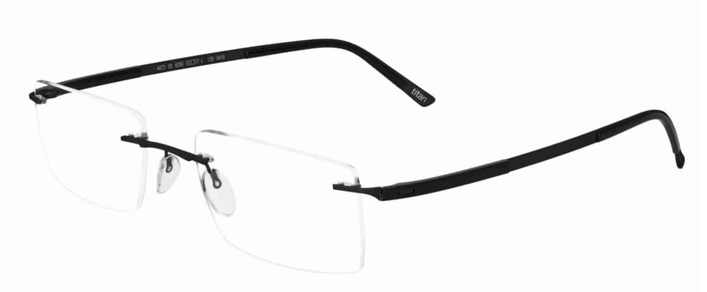 Silhouette Rimless 5416 Titan Contour Eyeglasses frameless prescription glasses