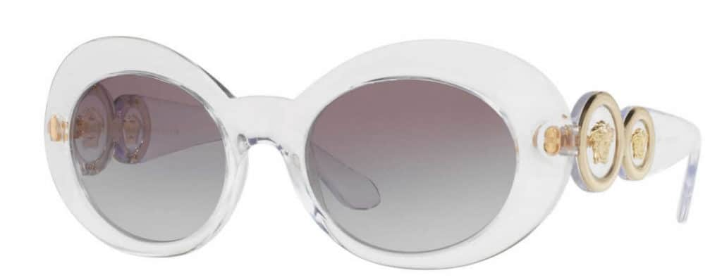 Versace VE4329 clear frame sunglasses