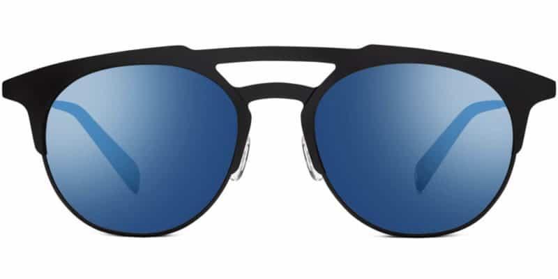 bennett round sunglasses