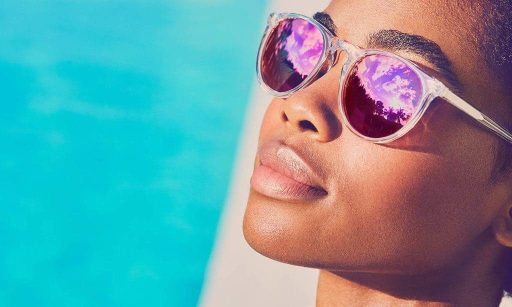 clear frame sunglasses cover