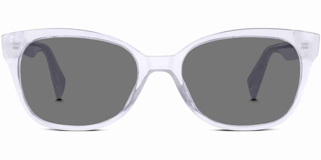 collis clear frame sunglasses