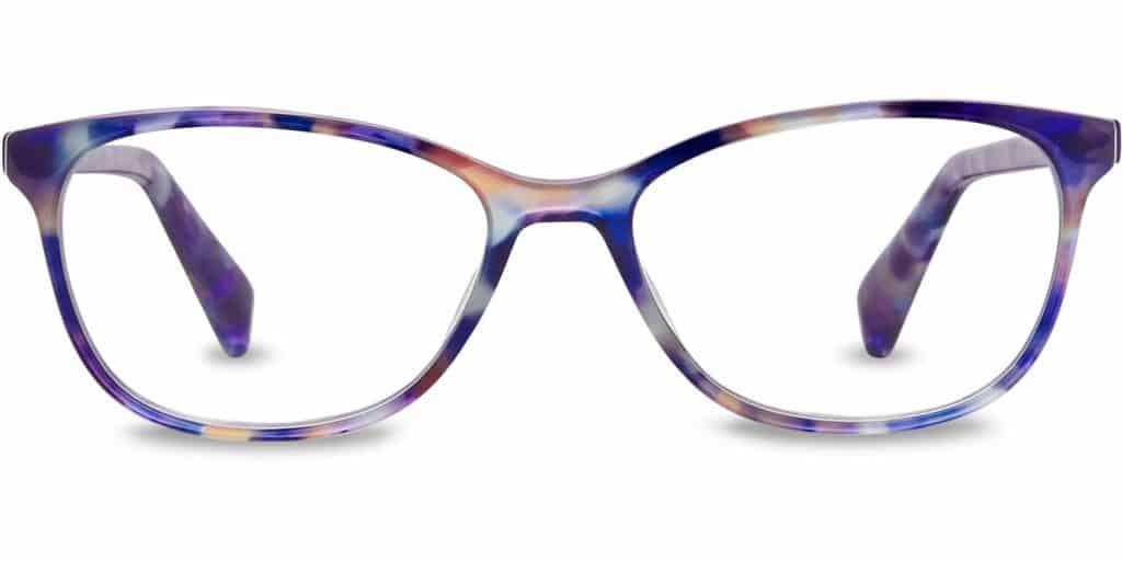 daisy aurelia tortoise cat eye glasses