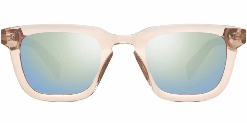 eastman clear frame sunglasses