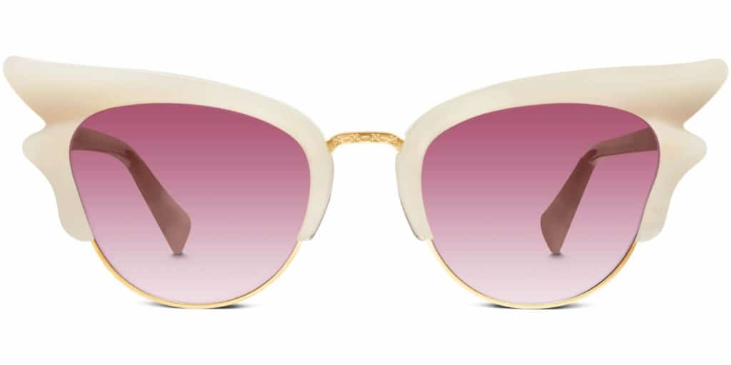 fleta cat eye sunglasses