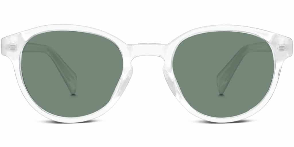 8adc2e285e Percel in Crystal with Green-Grey Lenses. Like the Dahl sunglasses for women  ...