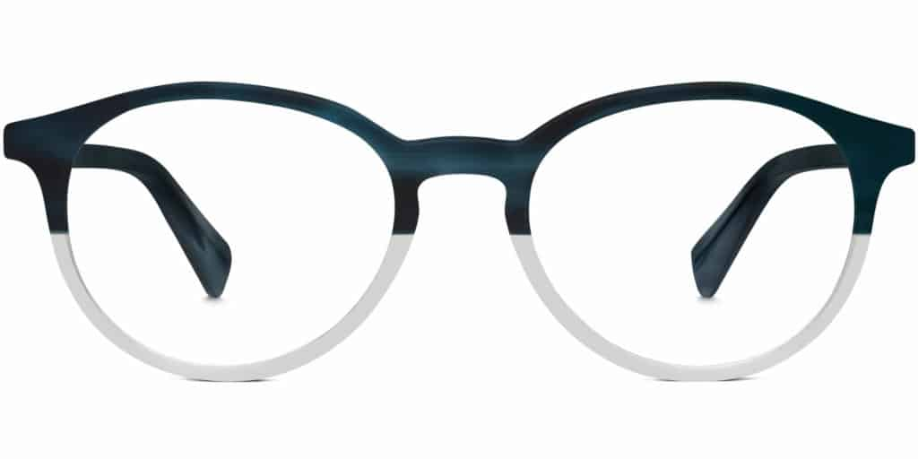 watts prescription round glasses