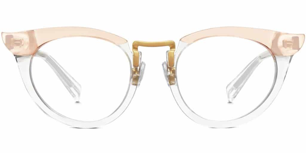 zelda clear frame prescription glasses