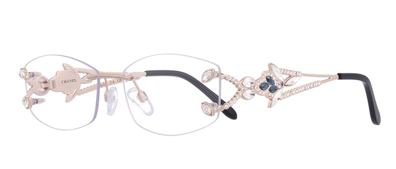 ross framma chanel rimless