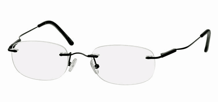 39dollarglasses Bendable Titanium Rimless