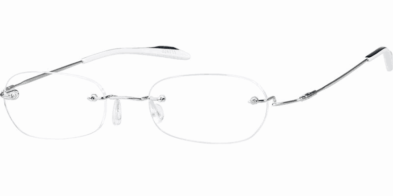 zenni rimless stainless steel