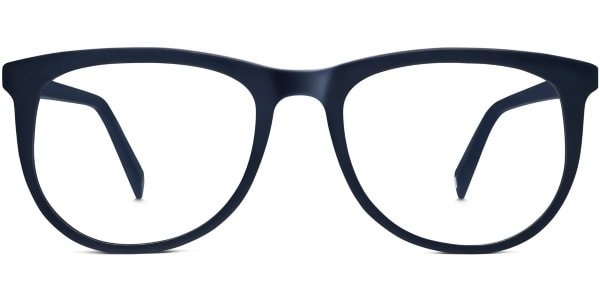 warby parker hyde matte navy