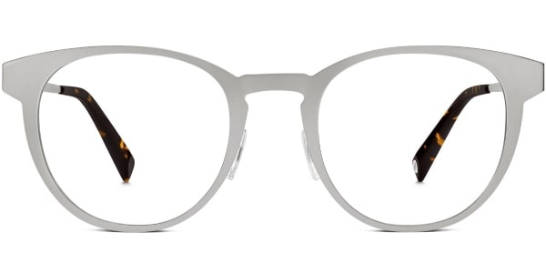 warby parker rigby brushed silver