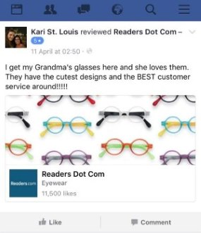 readers.com FB review