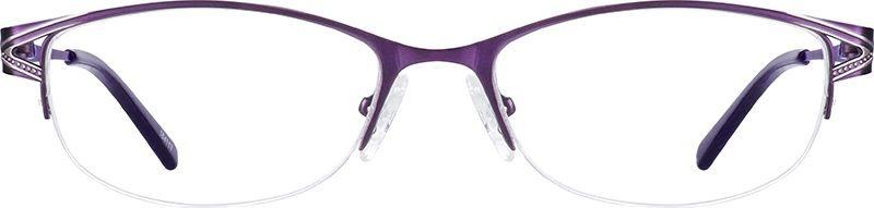 zenni semi-rimless glasses