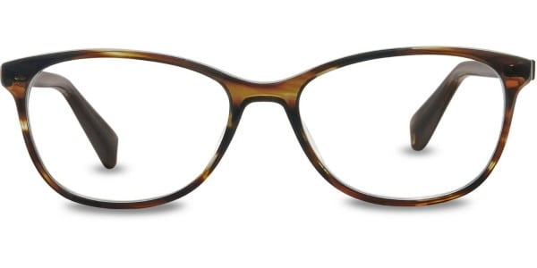 warby parker daisy striped molasses