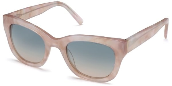 warby parker gemma in rose marble
