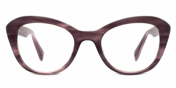 warby parker goodney heathered plum