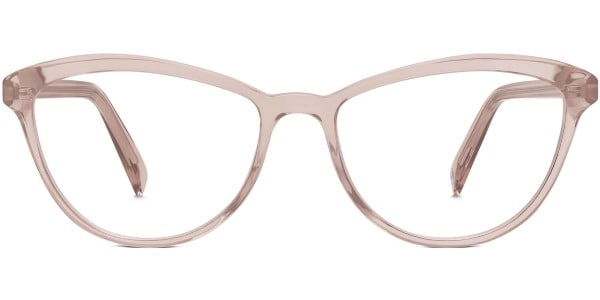 warby parker louise in rose water