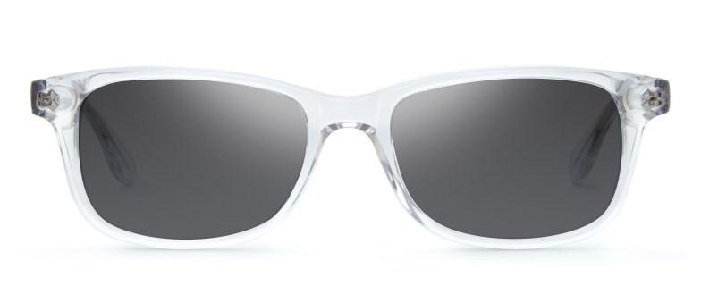 liingo maddox clear frame sunglasses