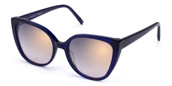 warby parker phoebe lapis crystal