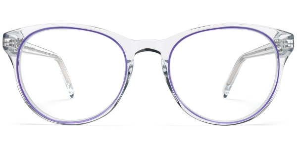 warby parker jane crystal with bramble