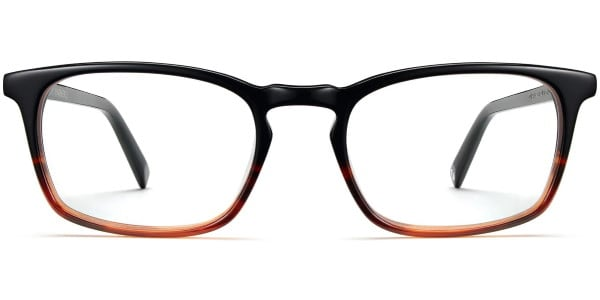 warby parker chase sugar maple fade