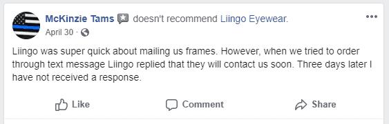 liingo negative customer service experience