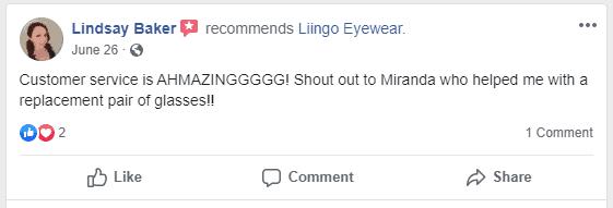 liingo positive customer service experience