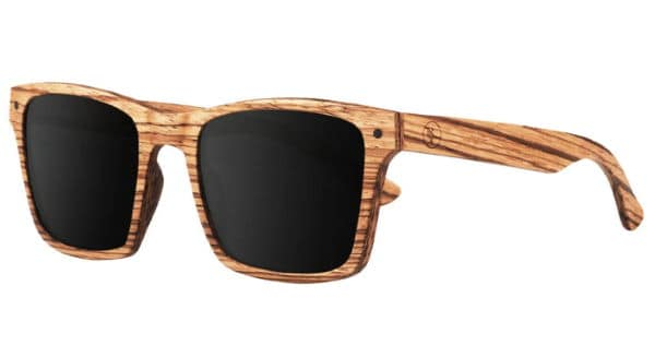 proof light brown wood sunglasses