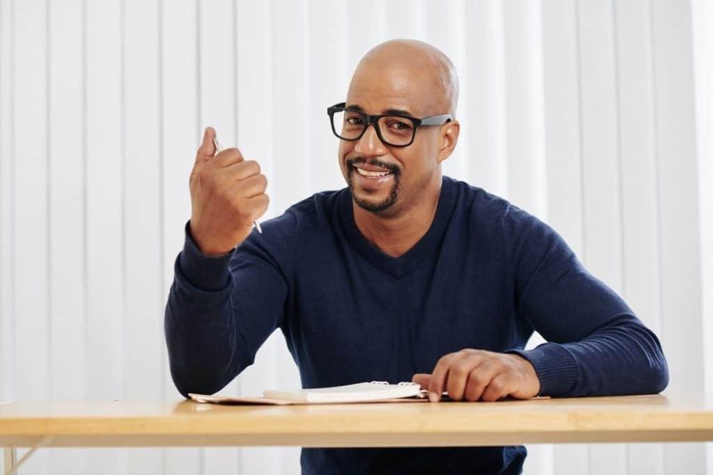 best glasses for bald men