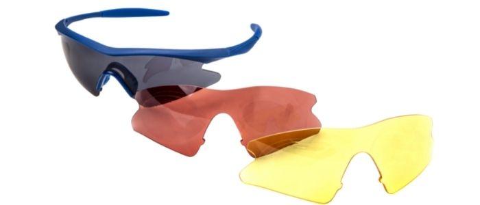 shooting glasses 3 lens colors